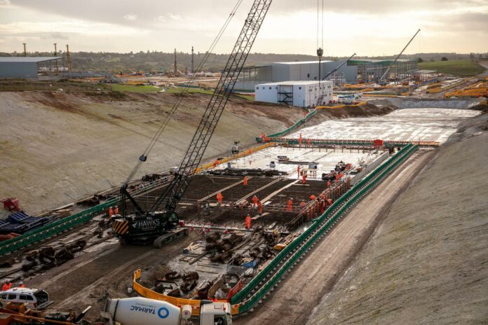 HS2 September works at the South Portal