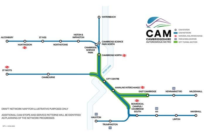 Cambridgeshire Autonomous Metro